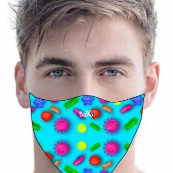 mascarillas faciales Mascarillas faciales mascarilla facial higi nica lavable virus hombre bitxo 340x340